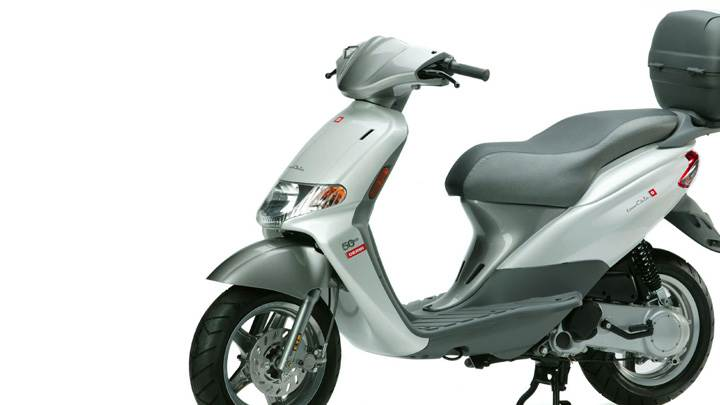 Derbi Atlantis Two Chic In Grey Side Pose